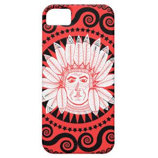 Conception indienne de motif de très bon goût chic coques Case-Mate iPhone 5
