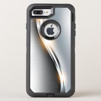 Conception inoxydable de vague coque OtterBox defender iPhone 8 plus/7 plus