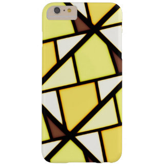 Conception jaune d'art coque barely there iPhone 6 plus