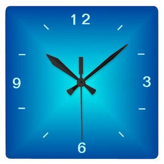 Conception lumineuse par Aqua bleu > horloge
