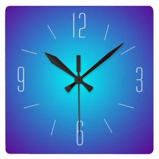 Conception lumineuse par bleu chic > horloge