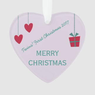 Conception magnifique de Noël 2017 des jumeaux