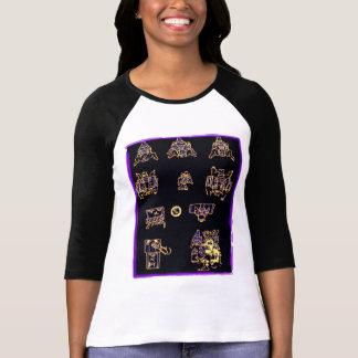 Conception maya fraîche t-shirts