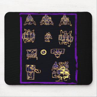 Conception maya fraîche tapis de souris