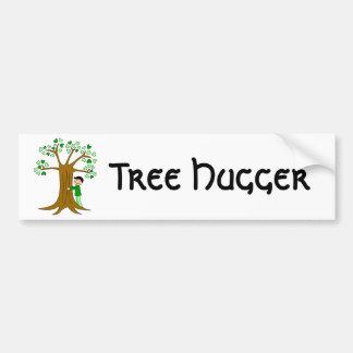 Conception mignonne de Hugger d'arbre Autocollant Pour Voiture