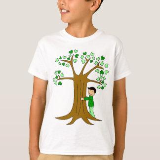 Conception mignonne de Hugger d'arbre T-shirt