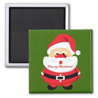 Conception mignonne de Noël du père noël Magnets Pour Réfrigérateur