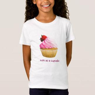 Conception mignonne de petit gâteau T-Shirt