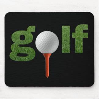 Conception mignonne de sports de golf tapis de souris