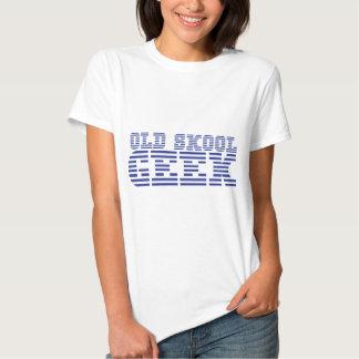 Conception mignonne d'ordinateur de VIEUX GEEK de T-shirts