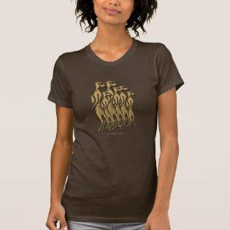 Conception mignonne drôle de T-shirt de famille de