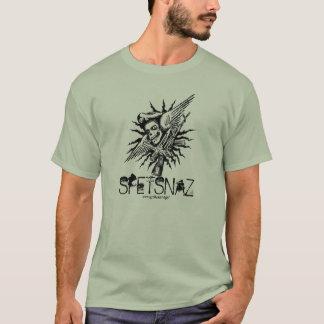 Conception militaire de T-shirt de cool de crâne
