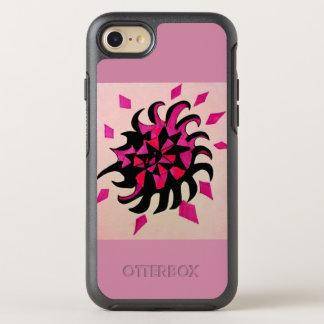 Conception moderne dans le rose et le noir coque otterbox symmetry pour iPhone 7