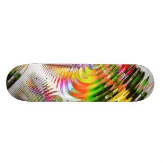 Conception moderne sur le panneau de patin skateboard
