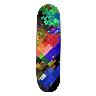 Conception moderne sur le panneau de patin plateau de skateboard