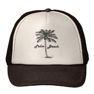 Conception noire et blanche de Palm Beach la Casquette