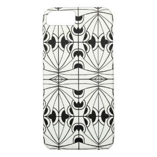 Conception noire et blanche unique coque iPhone 7
