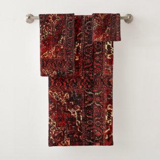 Conception orientale de couverture dans rouge