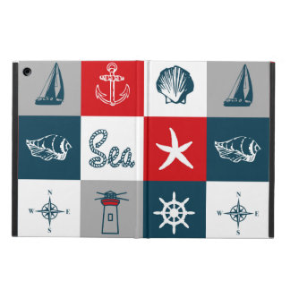 Conception orientée nautique coque iPad air