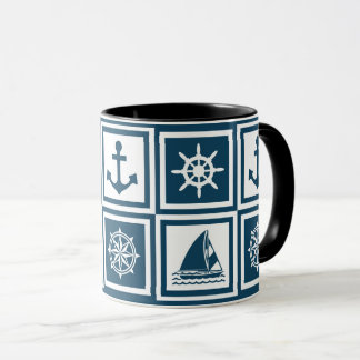Conception orientée nautique mug