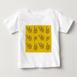 Conception originale de palmettes vintages de luxe t-shirt pour bébé