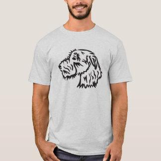 Conception originale de T-shirt de chien de