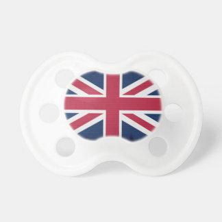 Conception patriotique britannique d'Union Jack de Tétine Pour Bébé
