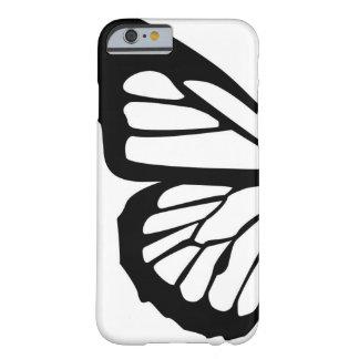 Conception personnalisable de papillon stylisé coque barely there iPhone 6