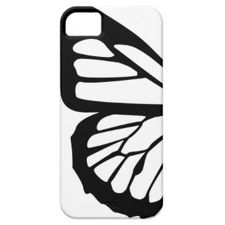 Conception personnalisable de papillon stylisé iPhone 5 case