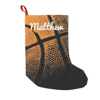 Conception personnalisée de vacances de petite chaussette de noël