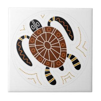 Conception pointillée par tortue carreau