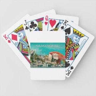 Conception postale touristique de Guayaquil Jeu De Cartes