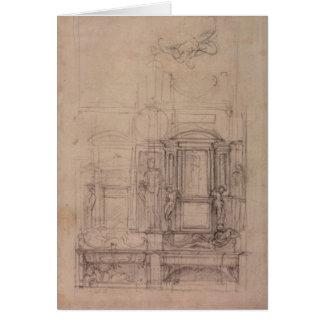 Conception pour la chapelle de Medici Carte De Vœux