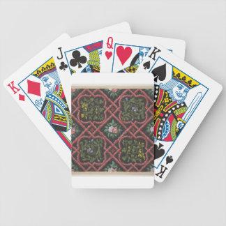 Conception pour le papier peint comportant les jeux de cartes