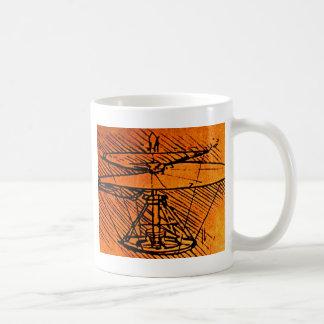 Conception pour un hélicoptère mug
