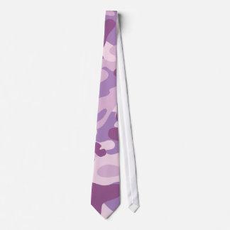 Conception pourpre de Camo Cravates
