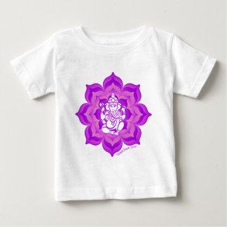 Conception pourpre de Ganesh T-shirt Pour Bébé