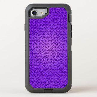 Conception pourpre d'impression de sirène coque otterbox defender pour iPhone 7