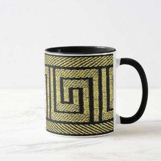 Conception principale grecque dans les or et le tasses