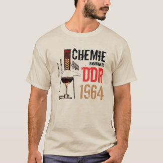 Conception publicitaire de RDA chimie T-shirt