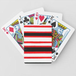 Conception rayée d'abstraction jeu de cartes