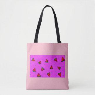 conception rose de pastèque de sac fourre-tout