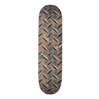 Conception rouillée approximative en métal de noir planches à roulettes