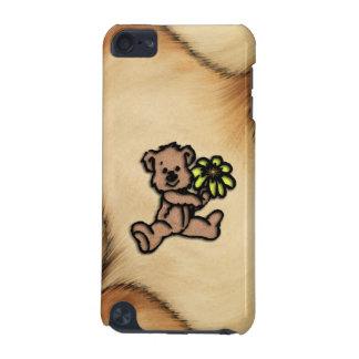 Conception rustique d'ours de marguerite coque iPod touch 5G