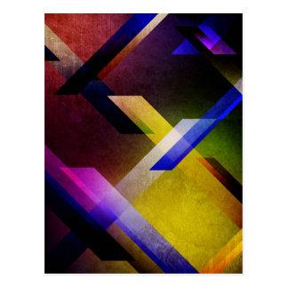 Conception spectrale cartes postales