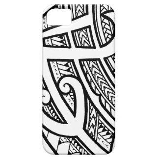 Conception tribale audacieuse d'île de tatouage coques Case-Mate iPhone 5