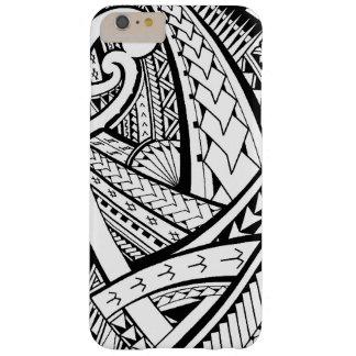 Conception tribale Samoane de tatouage avec des Coque Barely There iPhone 6 Plus