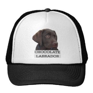 Conception unique de Labrador de chocolat ! Casquette Trucker