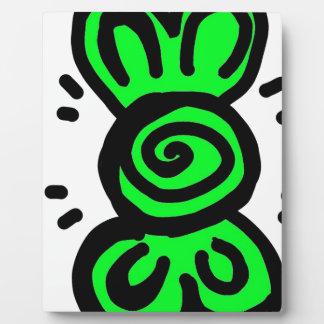 conception vert clair d'aspiration d'arc plaque d'affichage