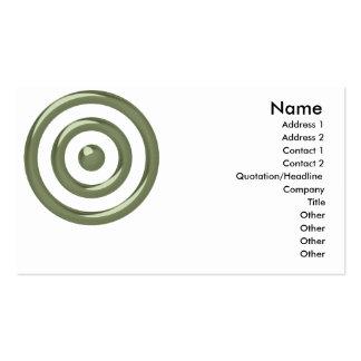 Conception verte 3 de boudine : : Carte de visite